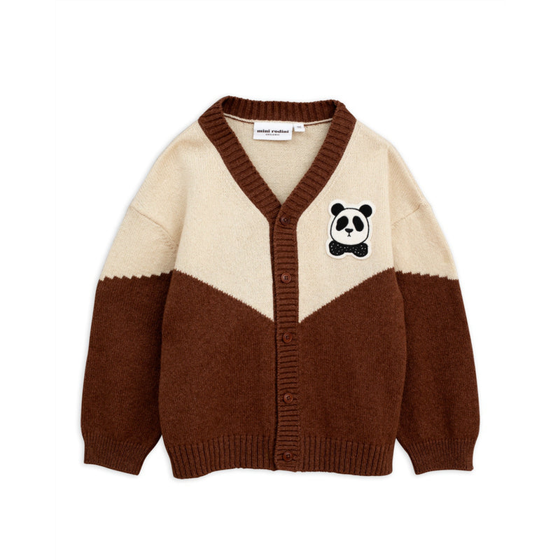 Boys Brown Organc Cotton Cardigan