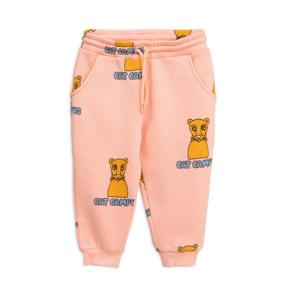 Girls Pink Organic Cotton Trousers