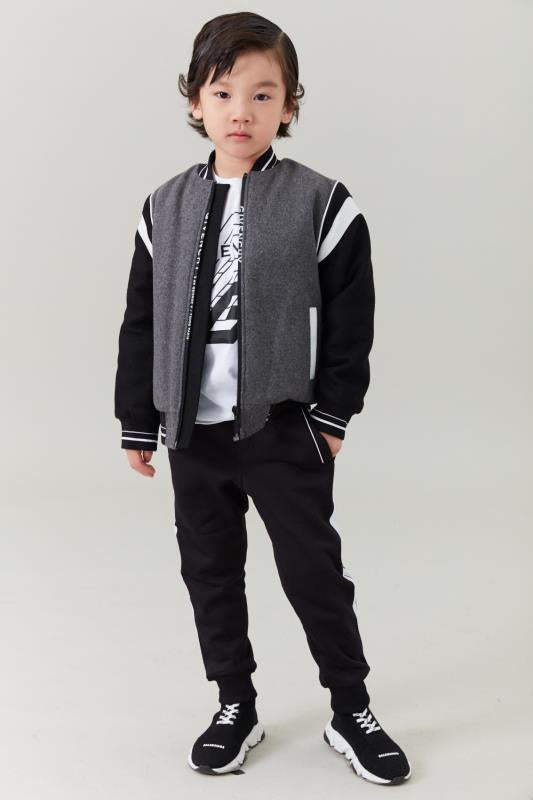 Boys Dark Grey Jacket