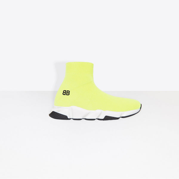 Boys & Girls Yellow Speed Trainers