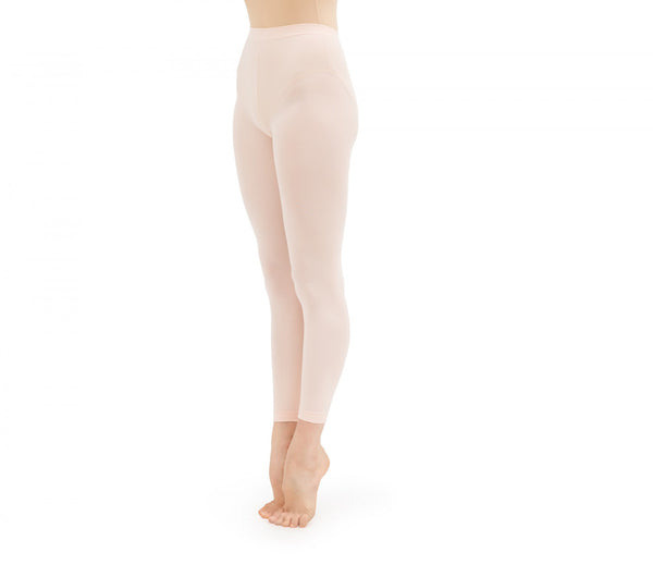 Girl Light Pink Footless Tights