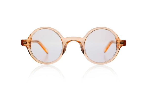 'Harry' Transparent Champagne Sunglasses