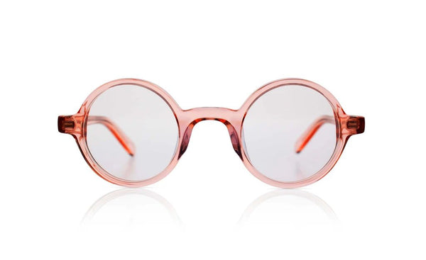 'Harry' Transparent Rose Sunglasses