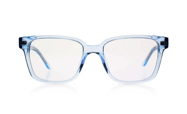 'Spiff' Transparent Blue Sunglasses