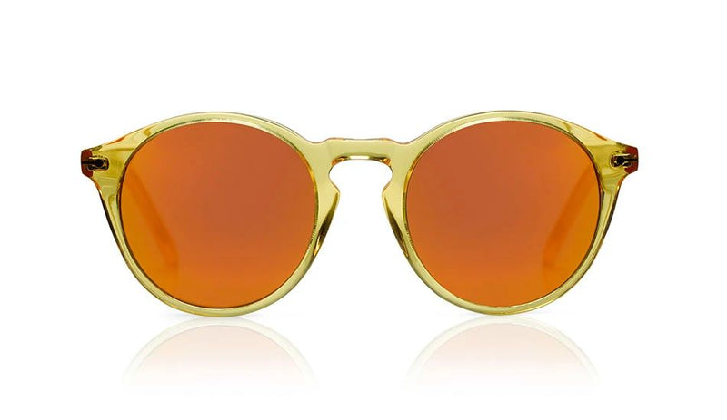 'Clark Sun' Yellow Jelly Sunglasses