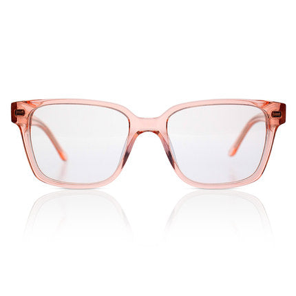 'Spiff' Transparent Rose Sunglasses