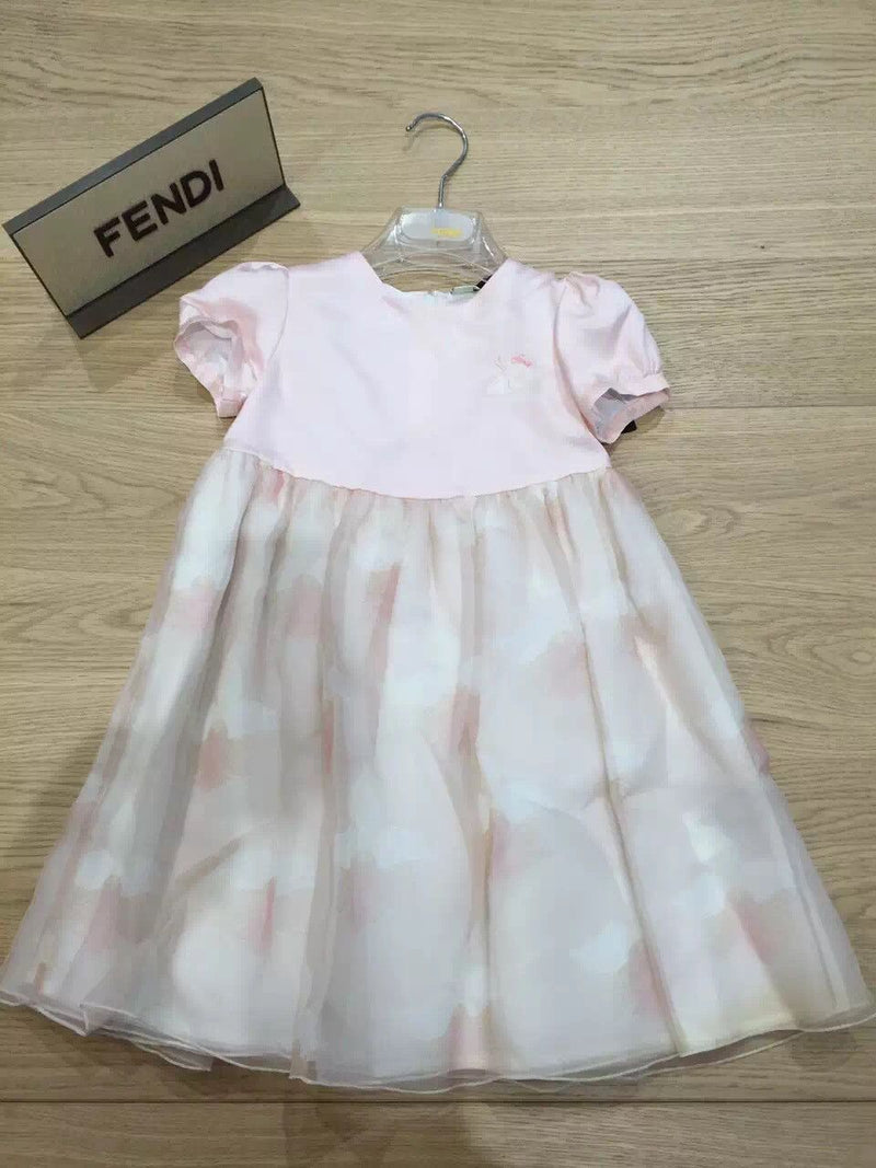Baby Girls Pink Sleeveless Silk Princess Dress - CÉMAROSE | Children's Fashion Store