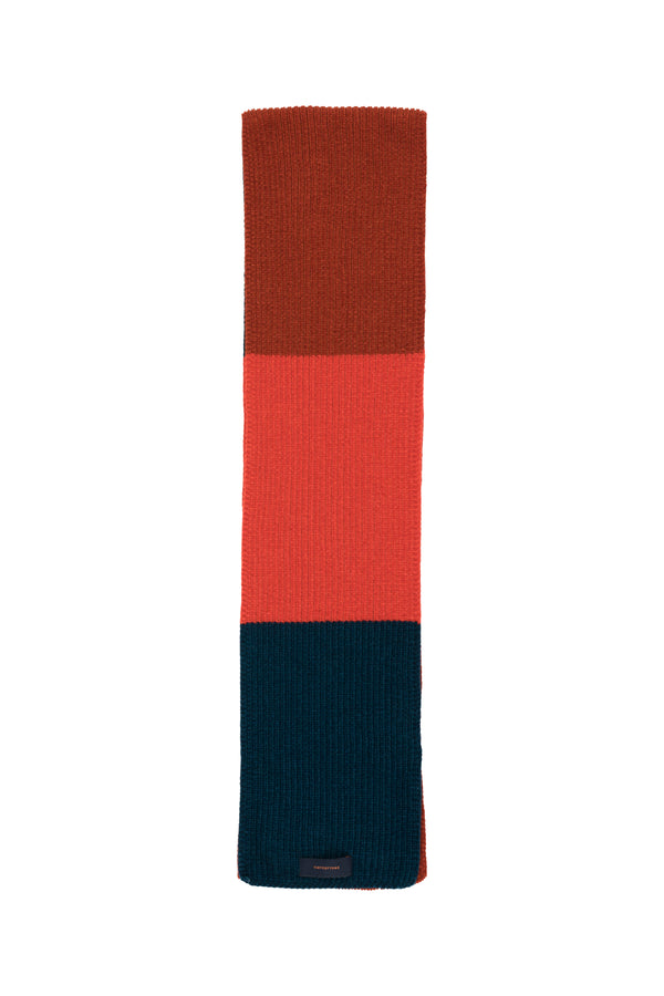 Boys & Girls Multicolor Striped Scarf