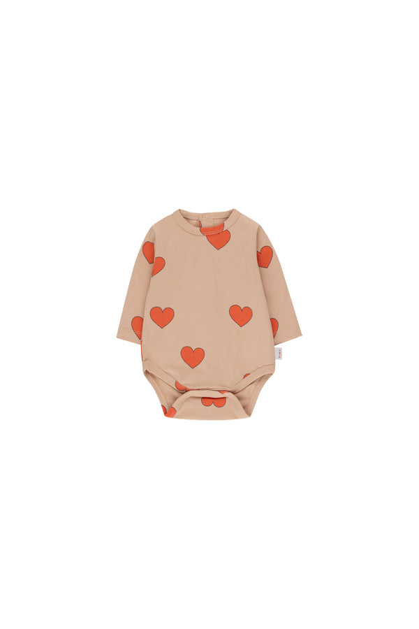 Baby Boys & Girls Red Hearts Roomper