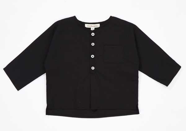 Baby Black Cotton Top