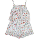 Girls Fleurs Condole Belt Jumpsuit
