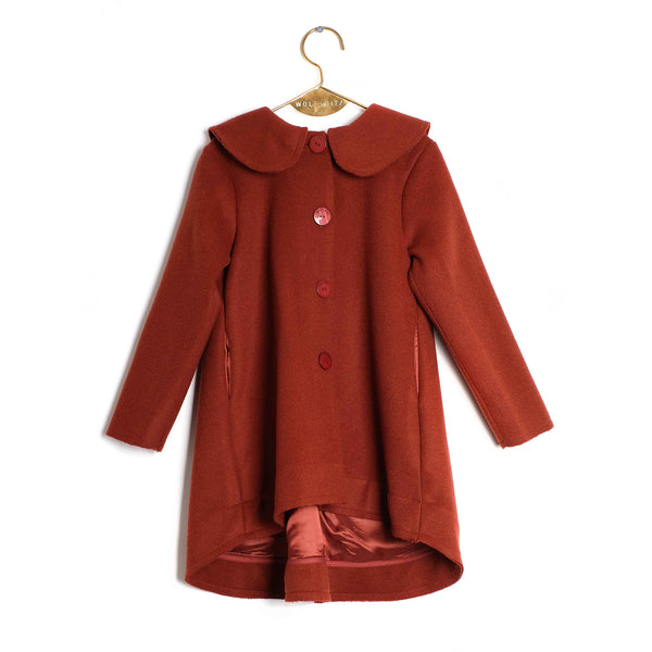 Girls Brick Coat