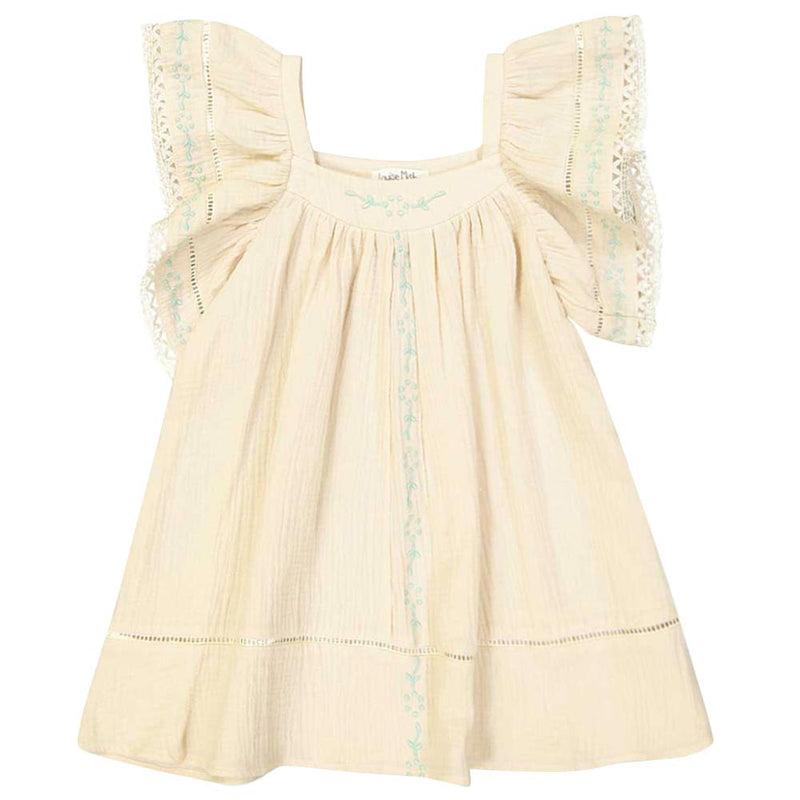 "Girls White ""Penelope"" Dress"
