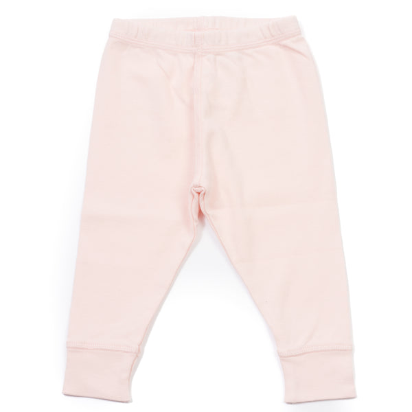 Baby Girls Rose Blossom Cotton Leggings