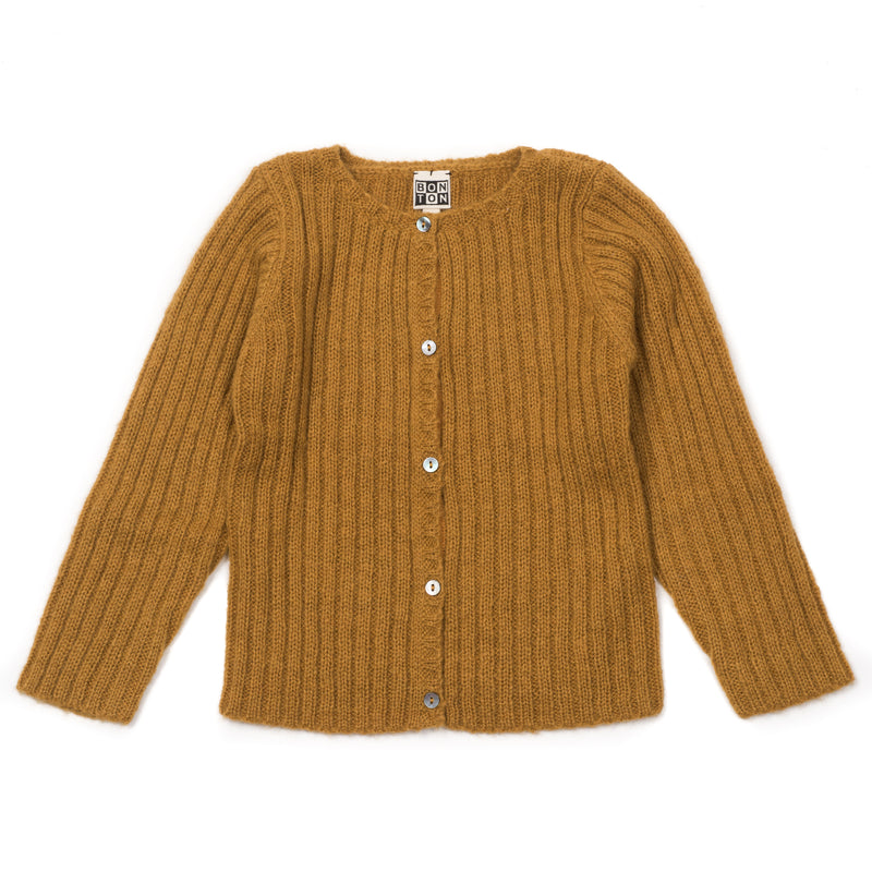 Girls Yellow Cardigan