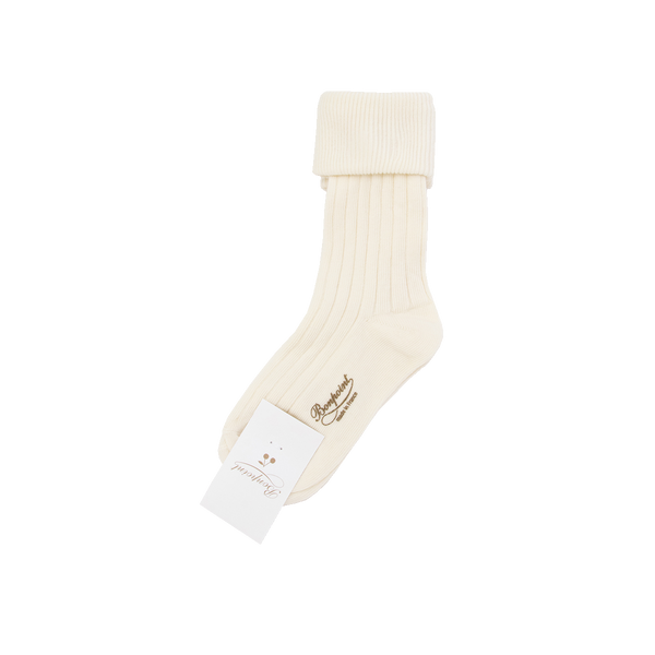 Girls White Socks