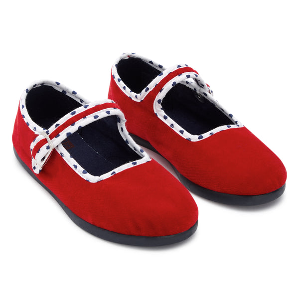 Baby Girls Red Shoes
