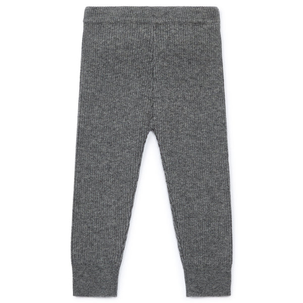 Baby Girls Grey Wool Leggings