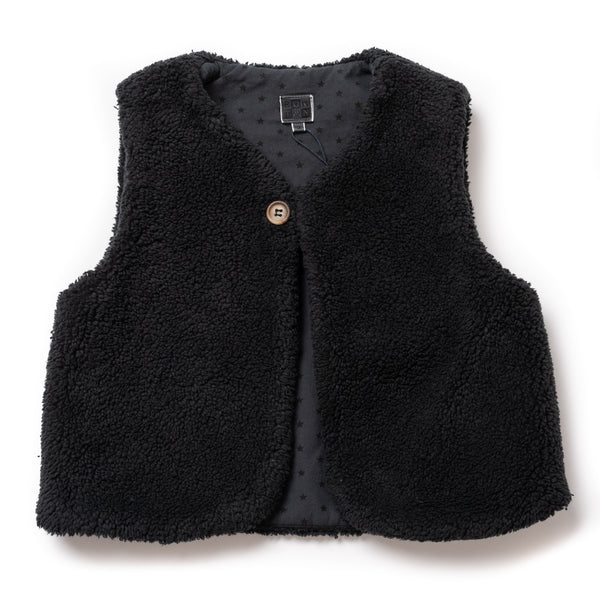 Girls Fusain Gilet
