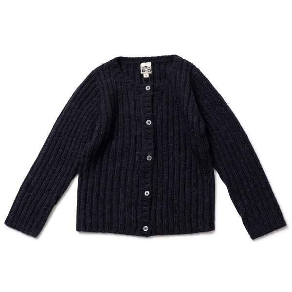 Girls Fusain Cardigan