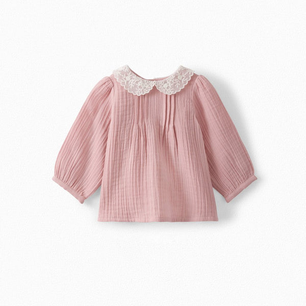 Girls Faded Pink Blouse