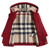 Baby Red Wool Duffle Coat