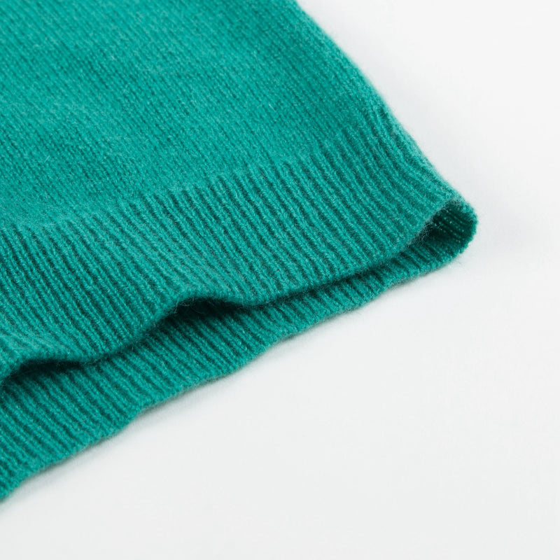 Bays  Bright  Green  Cashmere  Sweater