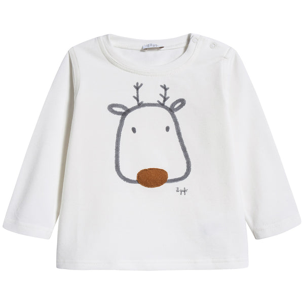 Baby Boys Milk Cotton T-shirt