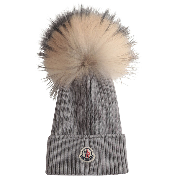 Boys & Girls Grey Wool Hat