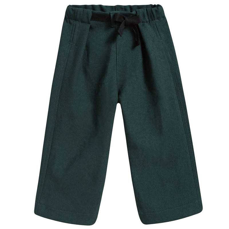 Girls Dark Green Trousers