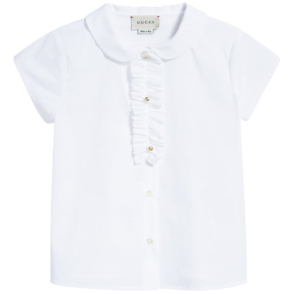Girls Optical White T-shirt