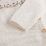 Baby Girls Ivory Wool Sets - CÉMAROSE | Children's Fashion Store - 8