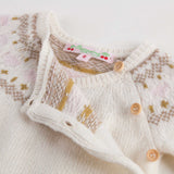 Baby Girls Ivory Wool Sets - CÉMAROSE | Children's Fashion Store - 11