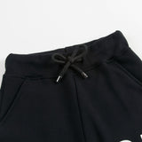 Boys Black Tracksuit Shorts