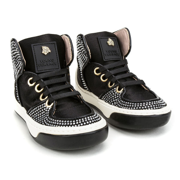 Boys Block&Gold Surface High Top Shoe