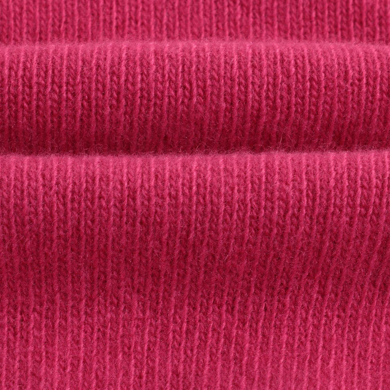 Boys & Girls Bright Pink Logo Wool Sweater