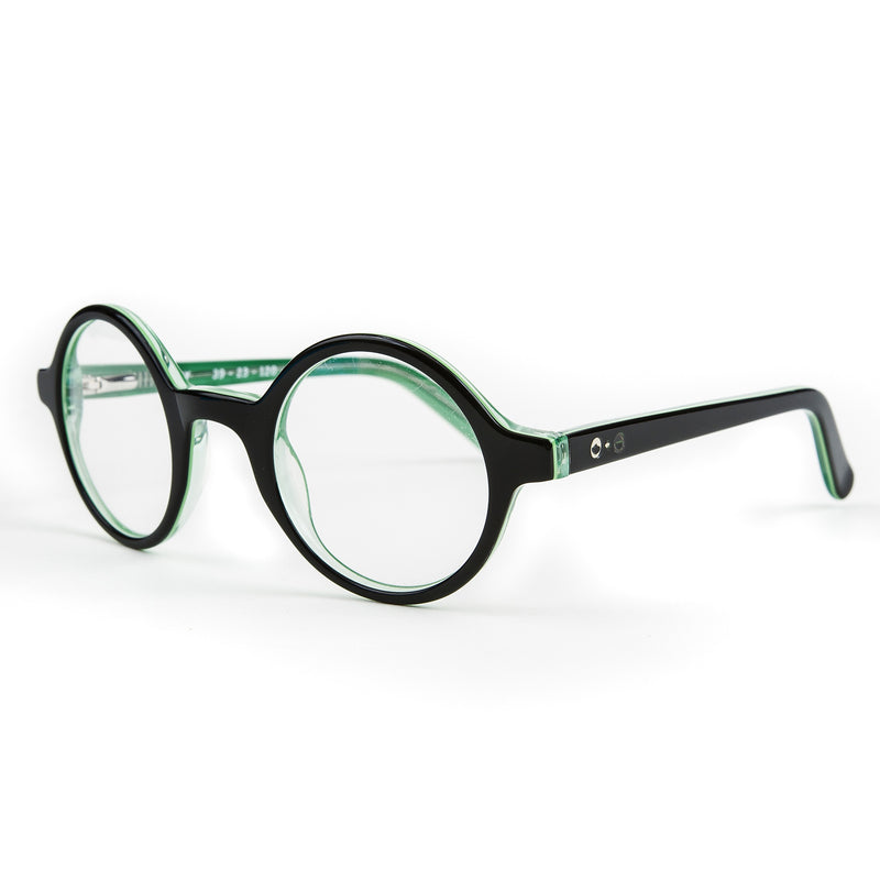 Harry' Black Green Layer Optical Glasses