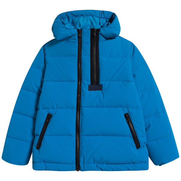 Boys Vivid Blue Coat
