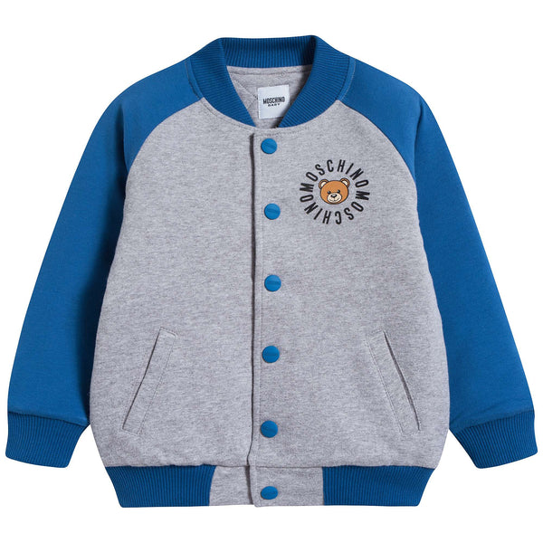 Baby Boys Blue & Girls Cotton Coat