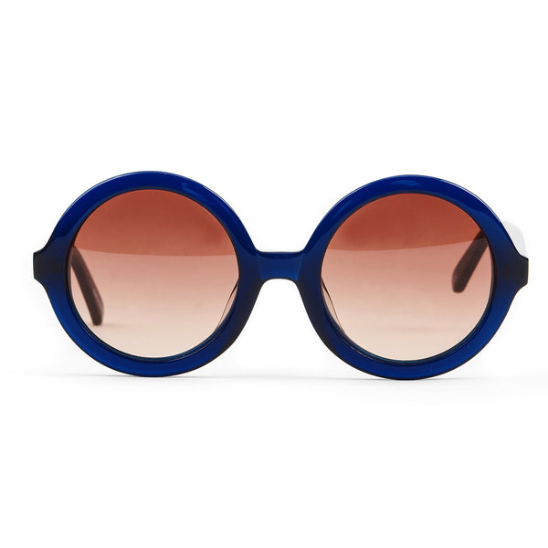 'Lenny' Navy Blue Sunglasses