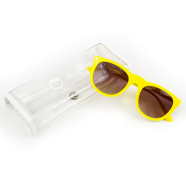 Bobby' Yellow Sunglasses