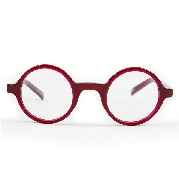 Harry' Dark Red  Optical Glasses