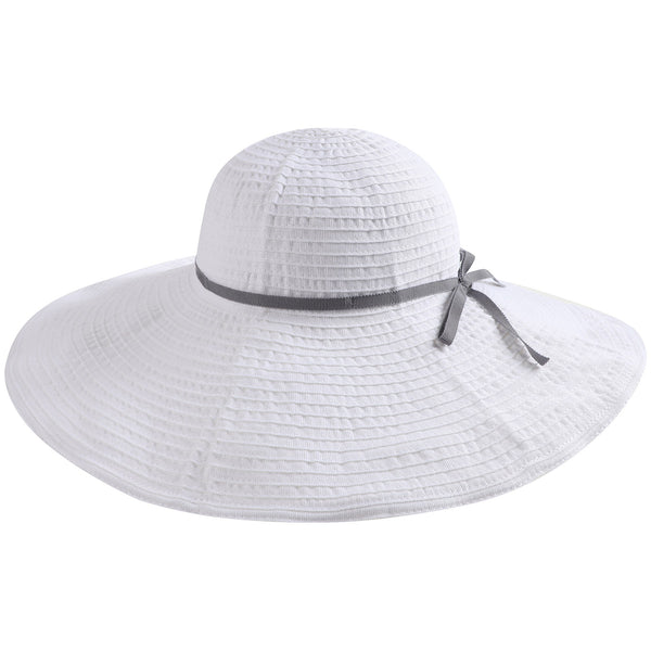 Girls White Cotton Hat