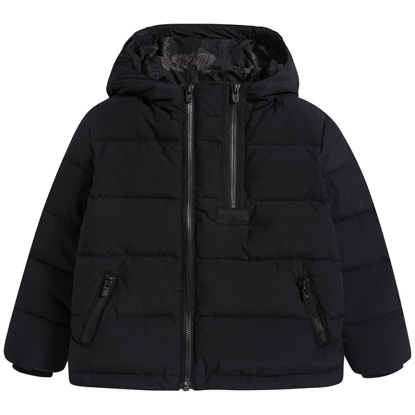 Boys Black Coat