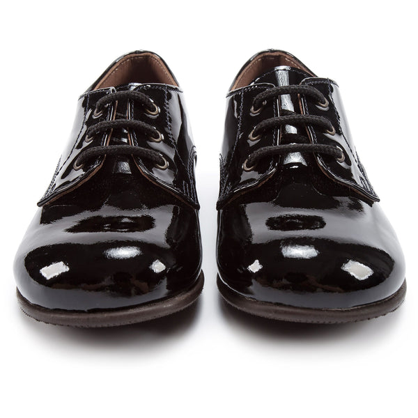 Girls Black Vernice Shoes