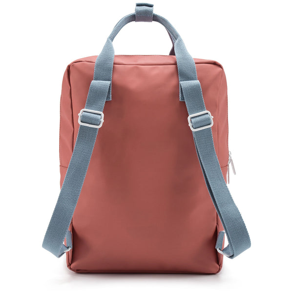 Girls Rusty Red Backpack Envelope Large