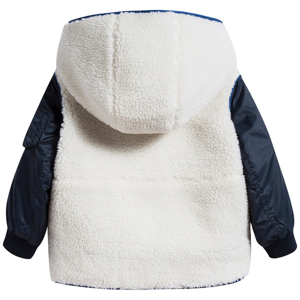 Baby Boys Natural White Coat