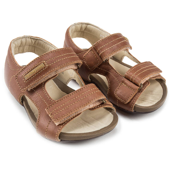 Boys Whisky Leather Sandal
