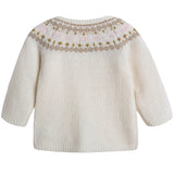 Baby Girls Ivory Wool Sets - CÉMAROSE | Children's Fashion Store - 4