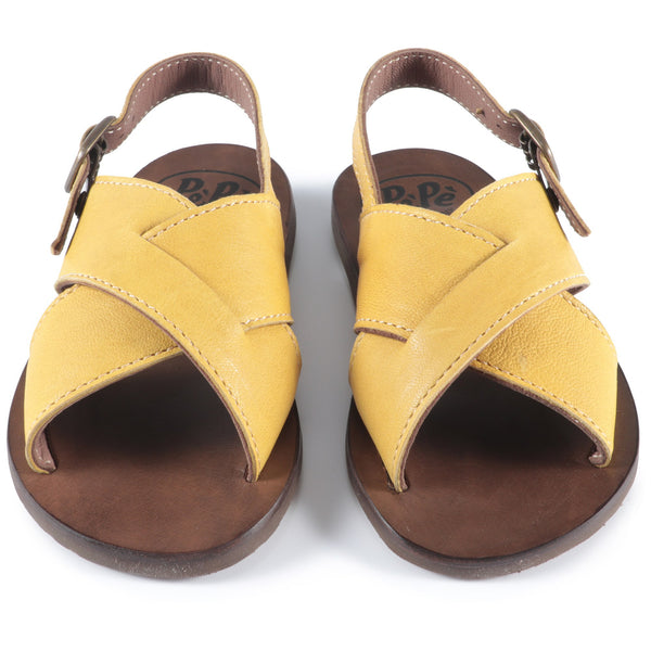 Baby Boys Yellow Sandals